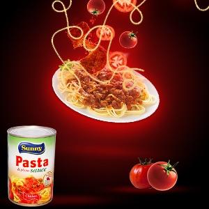 Spaghetti a la viande haché