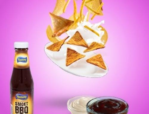 Sauce au smoky BBQ et mayonnaise