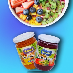Sunny Hi-Fruit Jam (Jar)