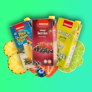 Sungold Fruit Drink Brik 1L