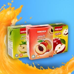 Sungold Fruit Drink Brik 200ML