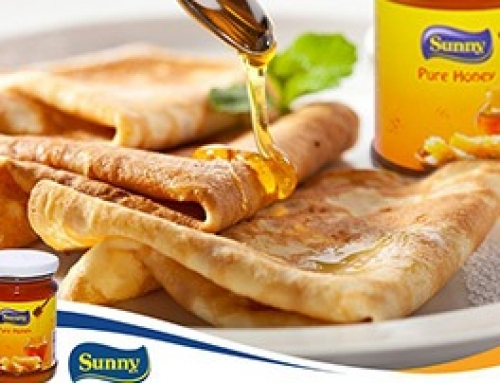 Sunny Pure Honey + Crepes = Délice !