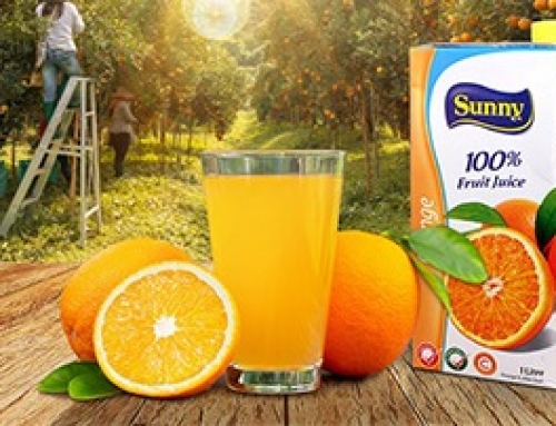 Jus de fruits Sunny provenant des plus beaux vergers !