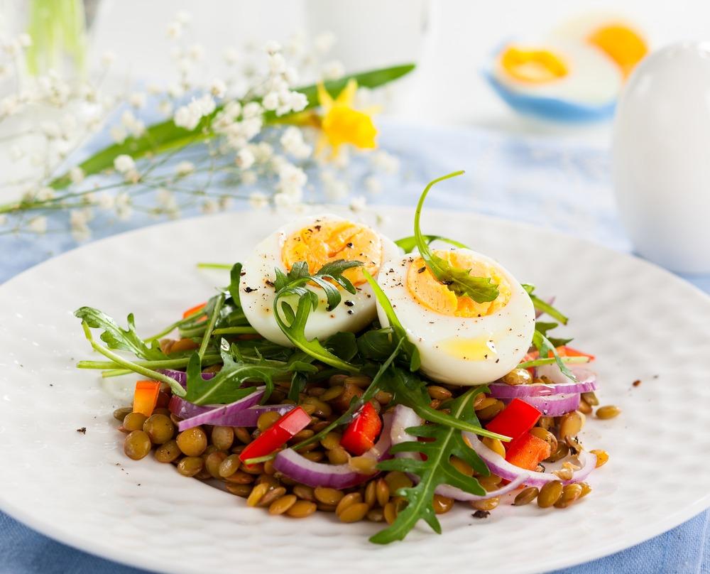 salade-lentilles