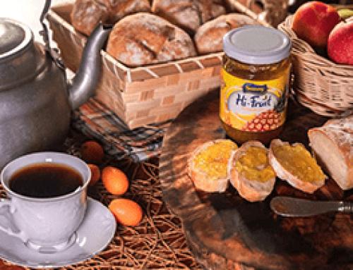 Bread + Hi-fruit jam = perfection!