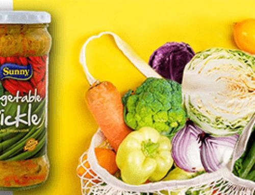 Sunny's pickled fresh vegetables!