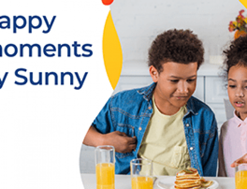 Afternoon snack with your kids!