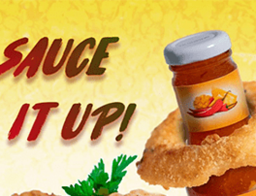 Sauce it up with Sunny's Fruity Sweet Chilli Sauce!