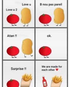 chips ketchup