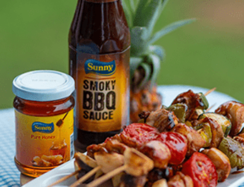 Secret sauce for a chicken skewer- Sunny Smoky BBQ Sauce