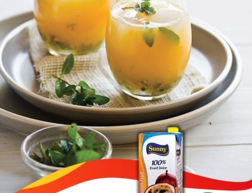 Passion Fruit &  Mint Cooler