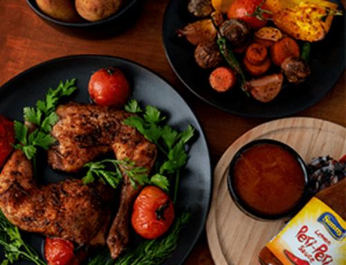 Roasted chicken and veggies Recipe