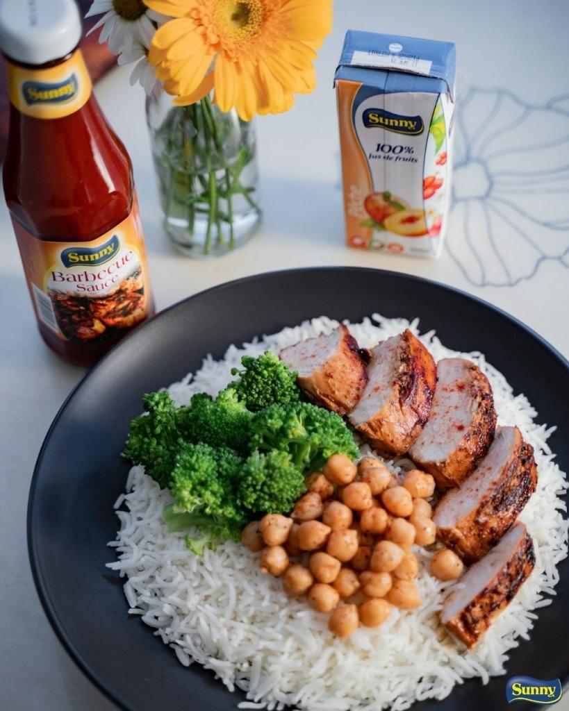 chick peas brocoli rice bbq sauce sunny 200ml posted on 19.10.2020