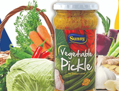 Try our pickled fresh vegetables!